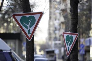 Stadtgrün ist eine wichtige natürliche Ressource für eine Stadt foto