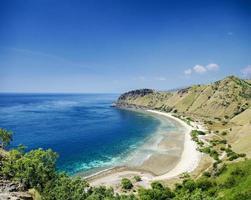 tropisches paradies cristo rei strand in der nähe von dili in osttimor asien foto