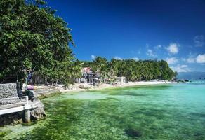 Diniwid Bay Beach im tropischen Paradies Boracay Philippinen foto