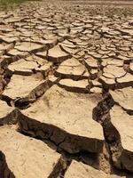 Rissige Erde strukturiert foto