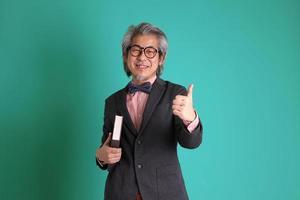 ostasiatischer Lehrer foto