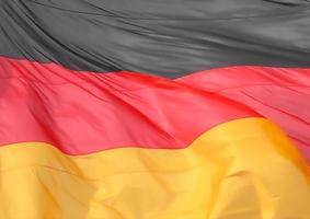 deutsche flagge von deutschland foto