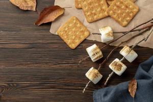 die köstliche Sitten-Dessert-Komposition foto