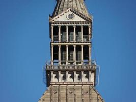 Maulwurf Antonelliana in Turin foto
