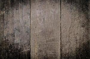 dunkler Holzhintergrund und dunkle Textur auf Holz foto