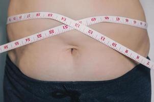 menschlichen Körper und Fettkörper, Bauch oder Bauch und Übergewicht von Menschen. foto