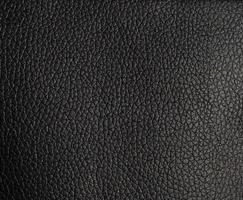 schwarzer Kunstleder Textur Hintergrund foto