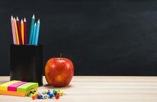 Hintergrund Bildung Konzept. zurück zur Schule mit Kopienraum. foto