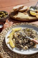 das traditionelle Gulas-Gericht-Arrangement foto