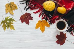Herbst-Halloween-Komposition foto
