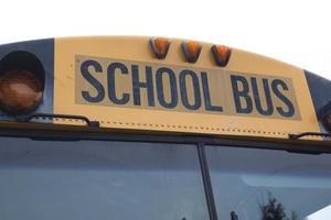 Amerikanischer Schulbus foto