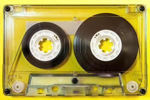 Audiokassette isoliert foto
