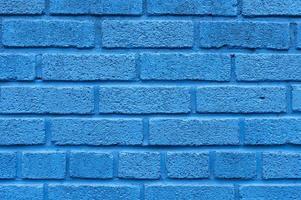 blauer Backsteinmauerhintergrund. Auflösung und hochwertiges schönes Foto