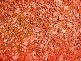 rote erde textur foto
