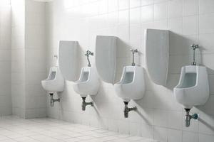 öffentliche Herrentoilette Toilette foto