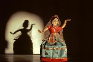 Tänzer und Bild foto