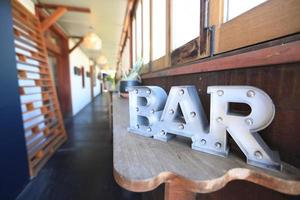 Bar in Paia Bay Maui Hawaii foto