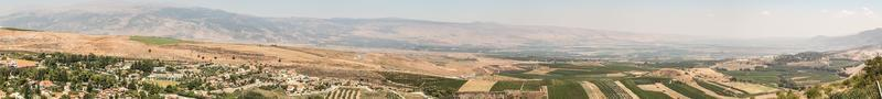 Landschaft in Israel foto