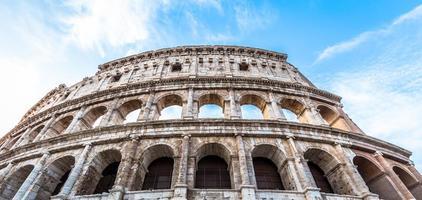 Kolosseum in Rom, Italien. foto