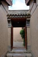 Tianshui Volkskunstmuseum Hu Shi Folk House, Gansu China foto