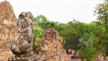 buddhistische khmer ruine von pre rup, siem reap kambodscha. foto