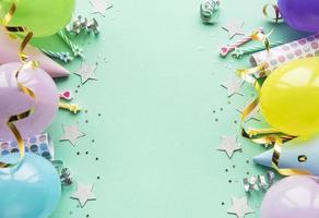 Alles Gute zum Geburtstag und Party Hintergrund foto
