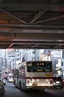 die moderne urbane autostraße foto