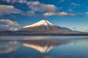 Mount Fuji und Lake Yamanaka japan foto