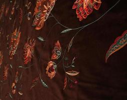 türkische Stoffe für Gardinen und Polster foto