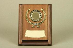 für Auszeichnungen und Erinnerungsstücke foto