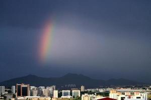 Türkeis Hauptstadt Ankara nach dem Regen foto