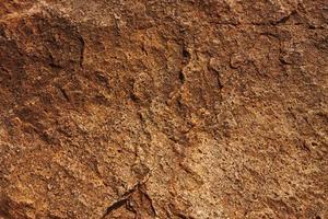 Stein gelb-rote Farbe foto