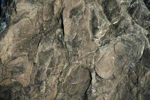 brauner Stein mit Ausstülpungen foto