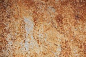 Fragment aus braunem Stein foto