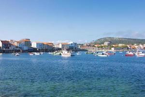 Corrubedo, ein kleines Fischerdorf in der Gemeinde Galicien, Spanien. foto