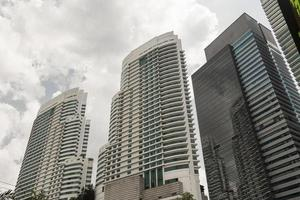riesige Wolkenkratzer in Kuala Lumpur, Malaysia. foto