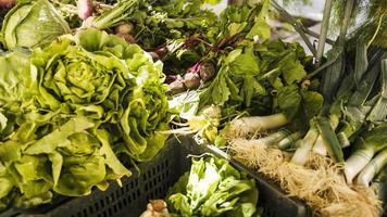 frisches grünes Gemüse foto