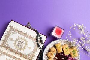 spirituelle muslimische anordnung foto