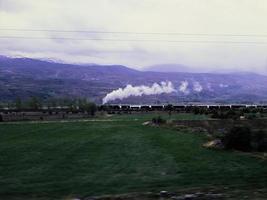 Dampfzug und Anatolien foto