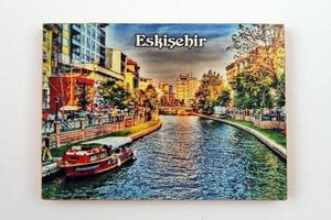 Türkei, 2021 - dekorierter Kühlschrankmagnet foto