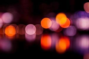 Bokeh-Lichtfarbe foto