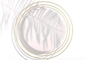 Draufsicht, abstrakter flacher Laienhintergrund mit Pastellfigur. kreative Flatlay-Kulisse. kreative Idee, Layout. 3D-Darstellung foto