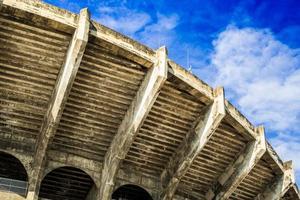 Arena Fußball tolles und schönes Baugebäude foto