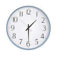 Uhr zeigt halbe Sekunde foto