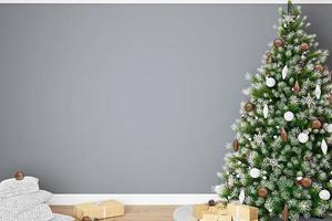 Weihnachtsmodellhintergrund -307 foto