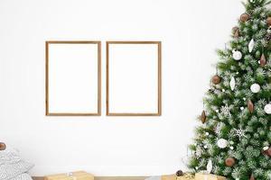 Weihnachtsrahmenmodell -308 foto