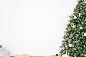 Weihnachtsmodellhintergrund -3 foto
