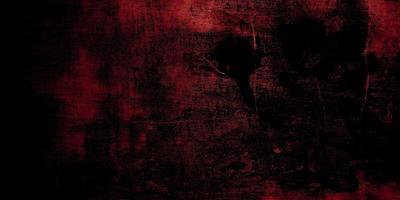 roter und schwarzer Horrorhintergrund. dunkle Grunge rote Textur Beton foto