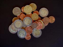 Euro-Münzen, Europäische Union foto