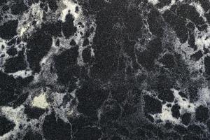 schwarzer Zierstein für Design, Interieur und Exterieur foto